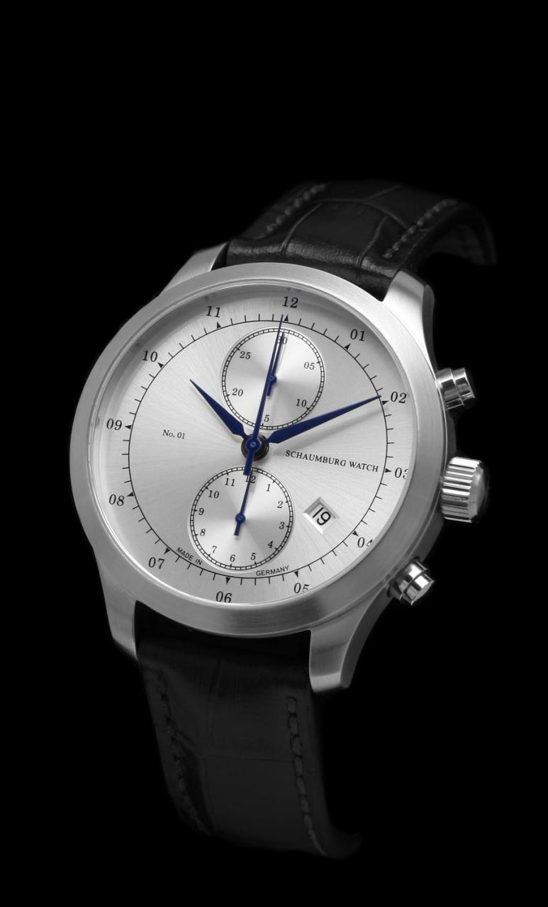 Нажмите на изображение для увеличения Название: Schaumburg-watch-chronograph-no-01-silber.jpg Просмотров: 21 Размер:122.8 Кб ID:1025000