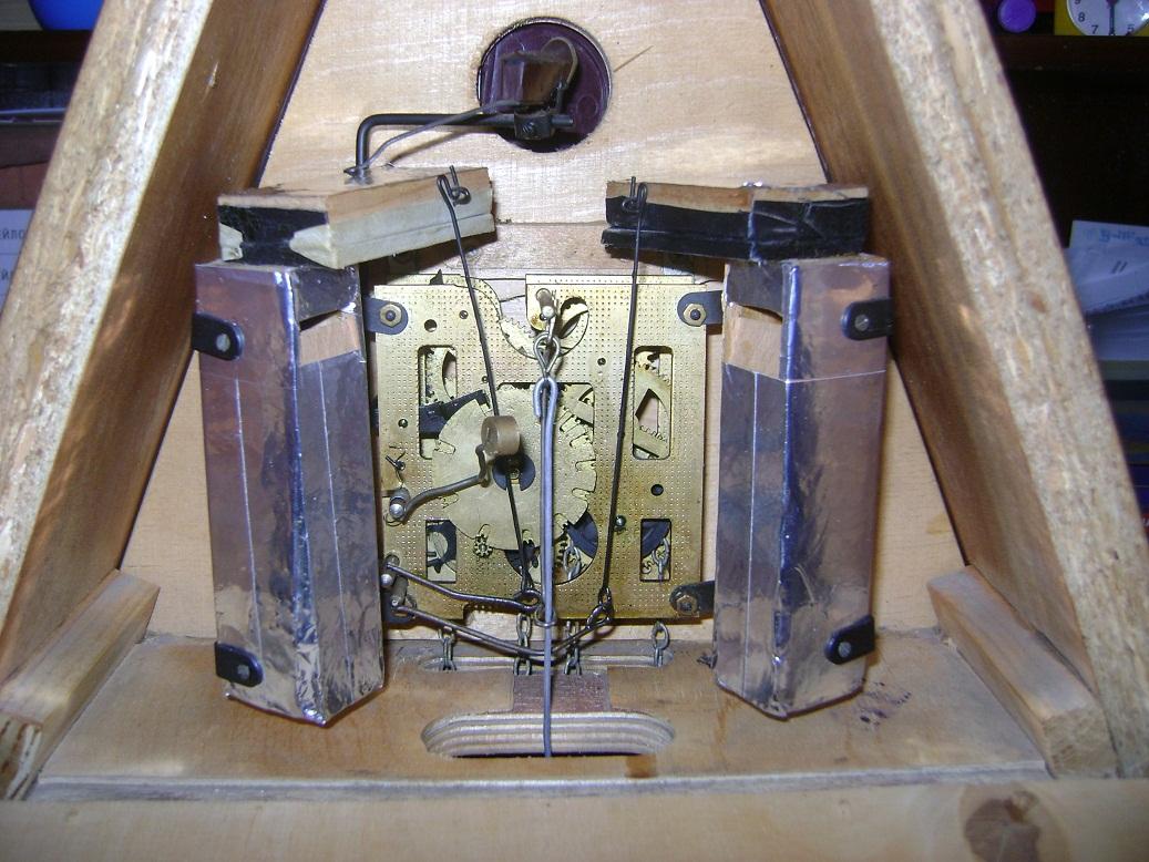 Механизм для часов с кукушкой своими руками 70