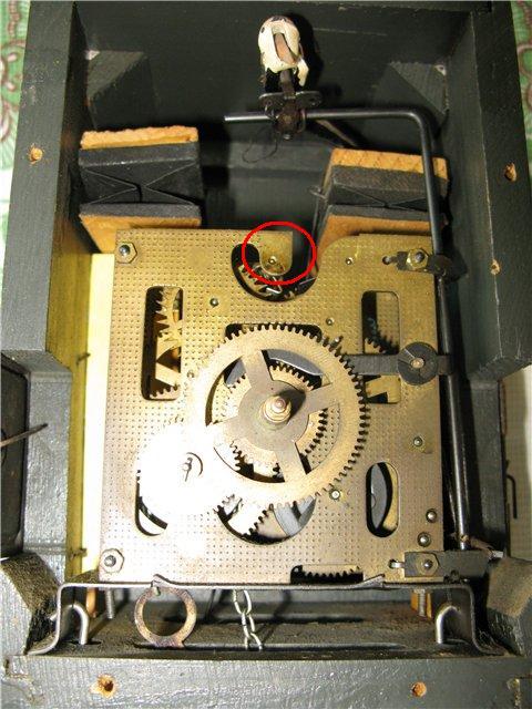 Механизм для часов с кукушкой своими руками 80