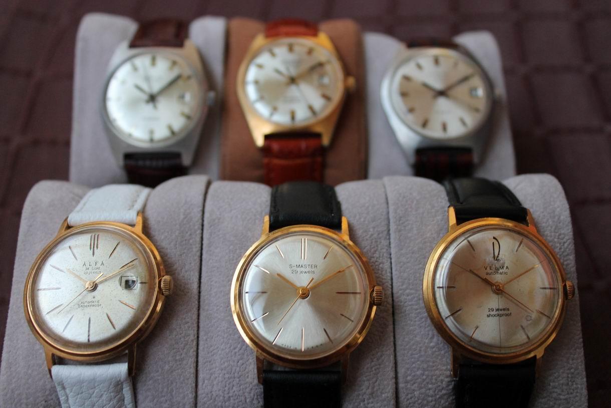 Marques d'emprunt ou d'exportation des montres soviétiques Picture